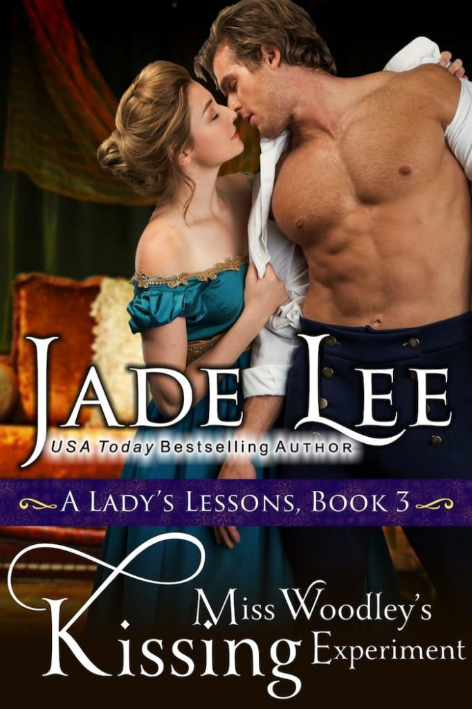 Miss Woodley's Kissing Experiment by Jade Lee